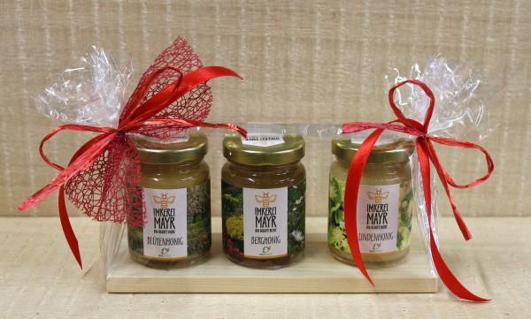 Honigbrettchen, Ganzjahresschmuck, versch. Farbvarianten möglich