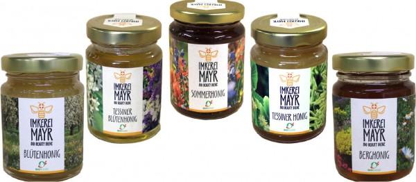 Schweizer Bio-Honig Nachfüllsets für Honigständer