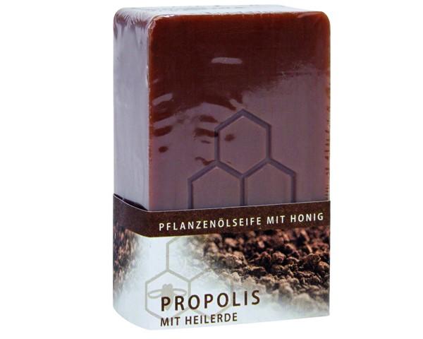 Propolisseife mit Honig und Heilerde